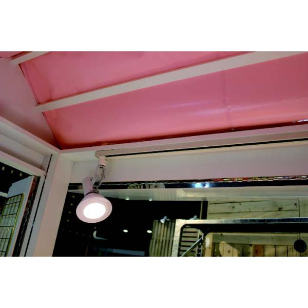 スポットライト用配線ダクトが標準装備されています。(照明別売)