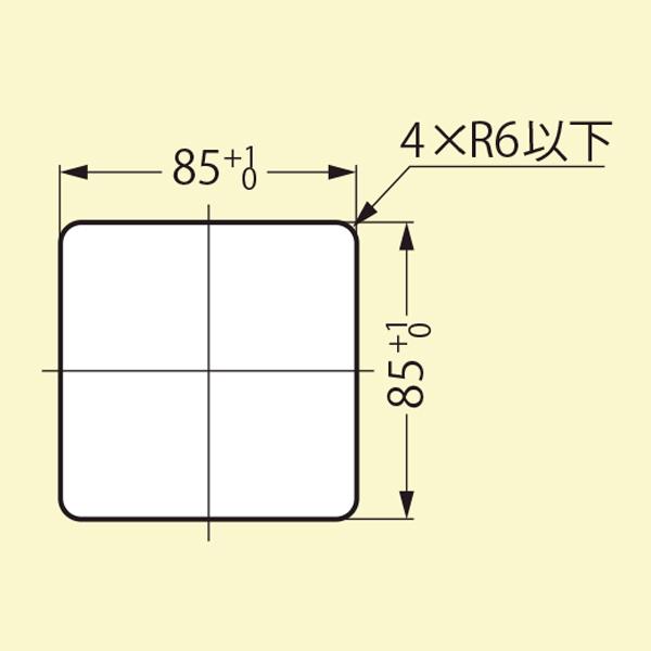 取付加工図 : AN-KH008-HL