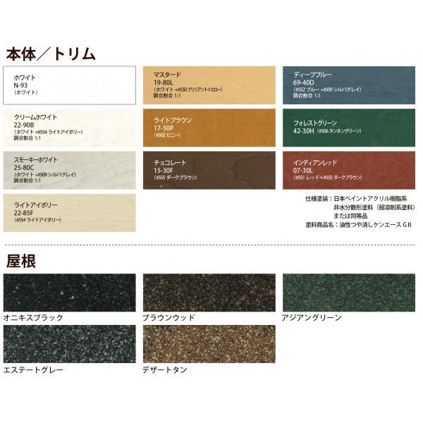 色の番号は社団法人日本塗料工業会発行の塗料用標準色の色票番号です。カタログの色見本は印刷のため実物の色とは異なる場合があります。 色を選ぶ際HA、必ず色見本帳でご確認ください。
