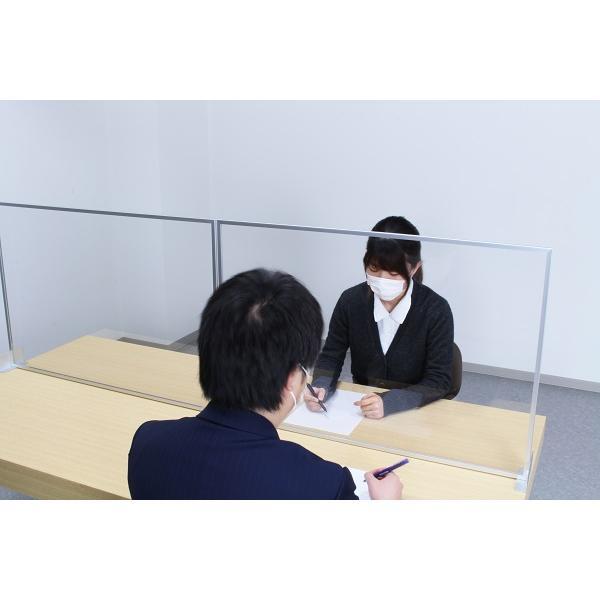 オフィスや店舗のテーブルに手軽に設置可能