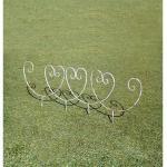 35310 花壇フェンス Y型 (アンティークホワイト)