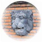 28307 壁泉 ライオン フェイス (自然色)