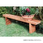 26014 枕木台 植木用(荒削り・無塗装仕上げ) (無塗装)